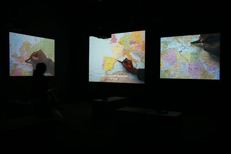 Bouchra Khalili Absorbing Displacement Ibraaz