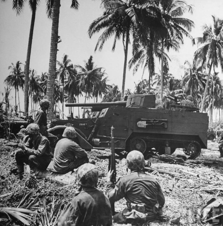 Bougainville Campaign The Solomon Islands Campaign First Major American Amphibious