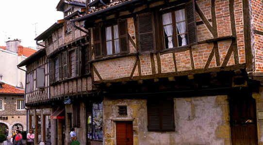 Bourg en Bresse in the past, History of Bourg en Bresse