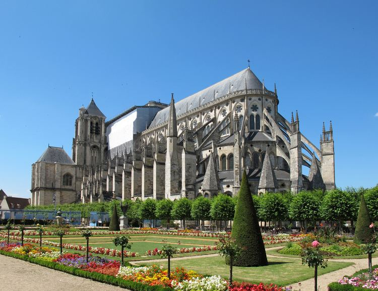 Bourges in the past, History of Bourges