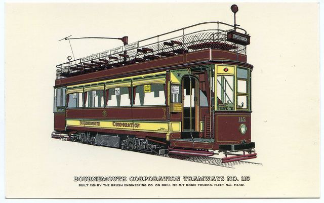 Bournemouth Corporation Tramways httpsc1staticflickrcom6514455594825785f6b