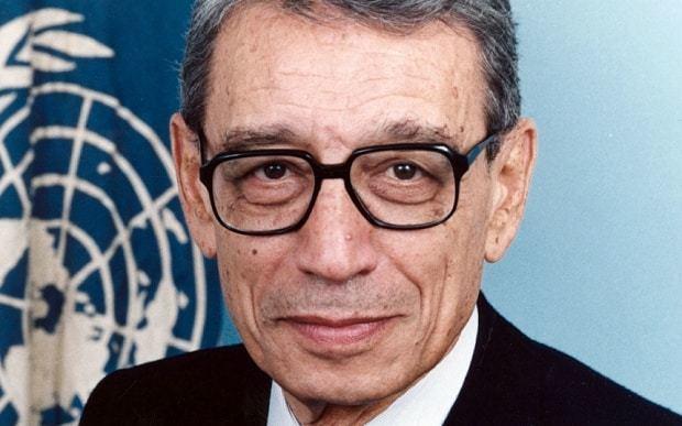 Boutros Boutros-Ghali Former UN SecretaryGeneral Boutros BoutrosGhali dies aged 93