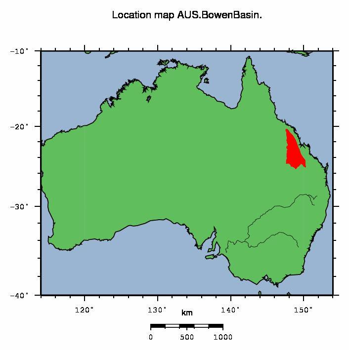 Bowen Basin AUS Bowen Basin