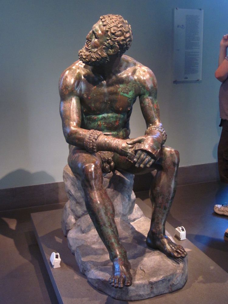 Boxer at Rest Bronze statue of the Boxer at Rest An Archaeologist39s Diary
