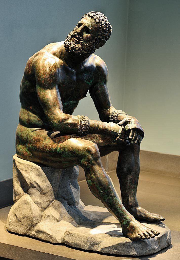 Boxer at Rest Boxer at rest Boxer of Quirinal Terme Boxer Rome Roman
