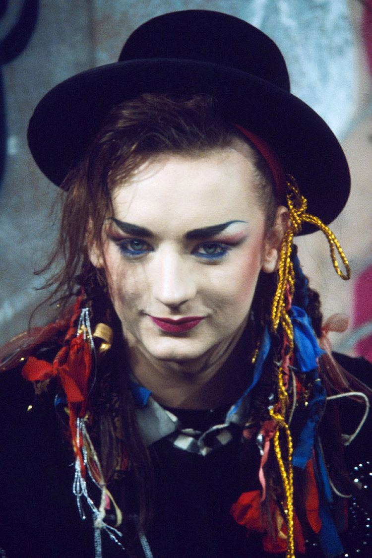 Boy George Stephen Jones once lived in a squat with Boy George Vogue