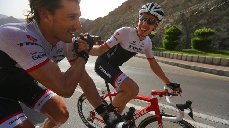 Boy van Poppel Boy van Poppel met Trek naar Ronde van Itali NU Het