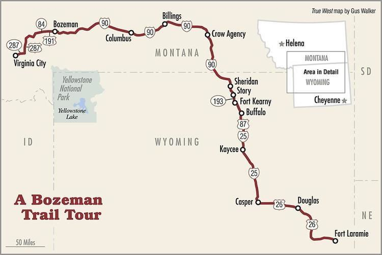 Bozeman Trail - Alchetron, The Free Social Encyclopedia