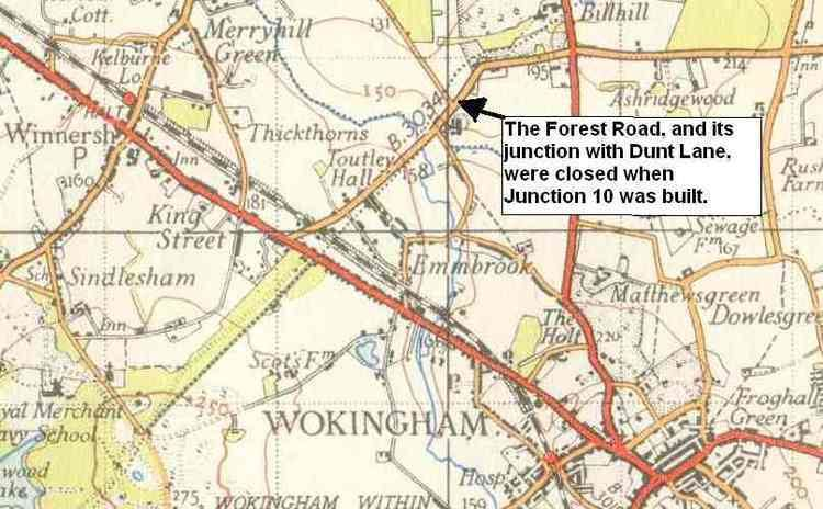 Bracknell Forest in the past, History of Bracknell Forest