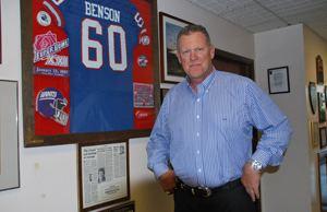 Brad Benson NFLer Turned Dealer Puts on the Blitz News amp Analysis