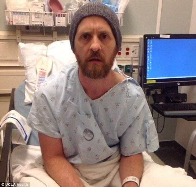 Brad Carter Incredible video shows patient playing guitar as doctors