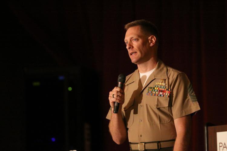 Brad Colbert Honing healthy habits helps heroes gt Marine Corps Base