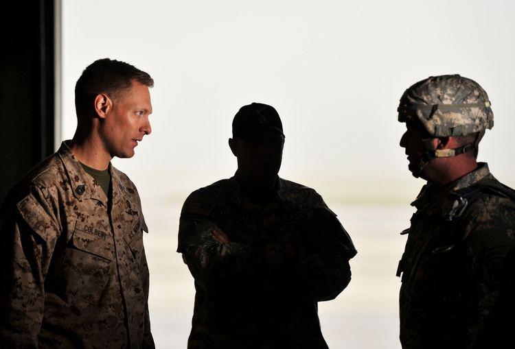Brad Colbert Grant Blankenship Two Marines