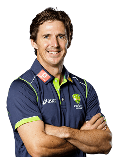 Brad Hogg (Cricketer) playing cricket