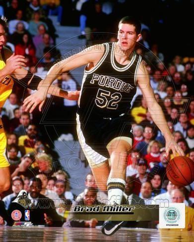 Brad Miller (basketball) Purdue Boilmakers Brad Miller Photo Photo at AllPosterscom