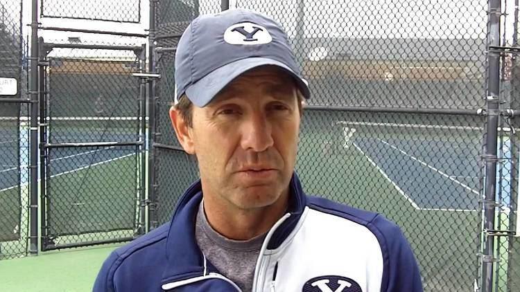 Brad Pearce (tennis) BYU Tennis Coach Brad Pearce DeepShadesofBluecom YouTube