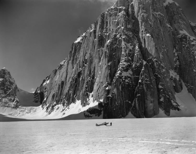 Bradford Washburn At Panopticon photographing mountains and glaciers The