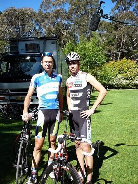 Bradley McGee McGee39s last ride with his friends Cyclingnewscom