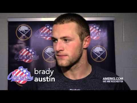 Brady Austin Brady Austin Training Camp Day 2 Post Skate 9302014