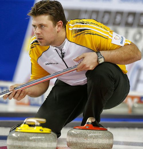 Braeden Moskowy Team Manitoba third Braeden Moskowy used to curling success in