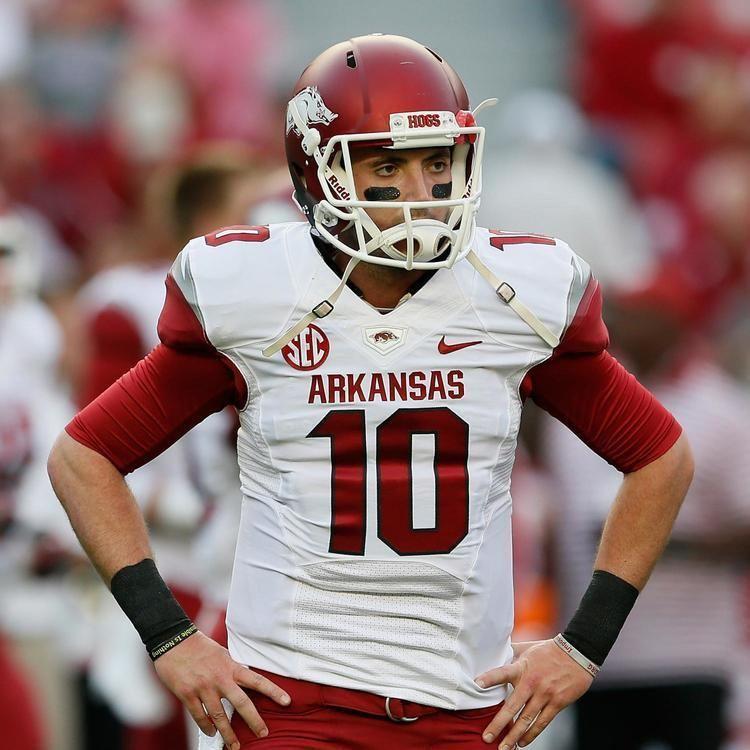 Brandon Allen Arkansas Football QB Brandon Allen39s Struggles Continue