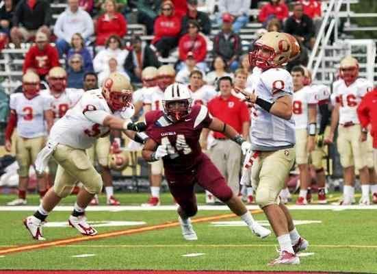 Brandon Miller (American football) College Football Former Plainsmen Tony Fusco and Brandon Miller are