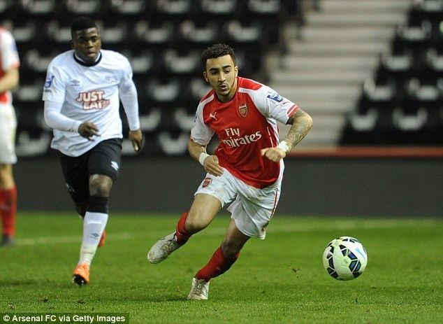 Brandon Ormonde-Ottewill Arsenal youngster Brandon OrmondeOttewill set for Swindon