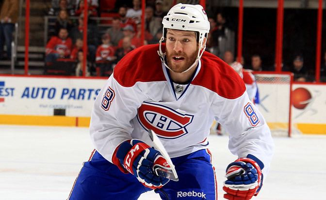 Brandon Prust Brandon Prust of Montreal Canadiens fined 5000 for