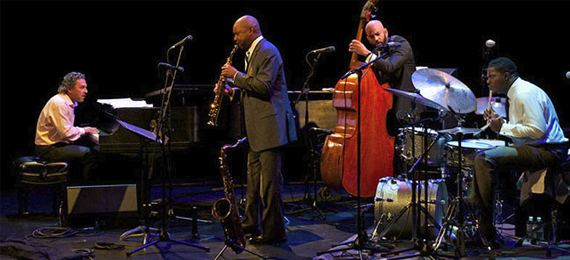 Branford Marsalis Quartet Branford Marsalis Quartet at the Smothers Theater at Pepperdine in