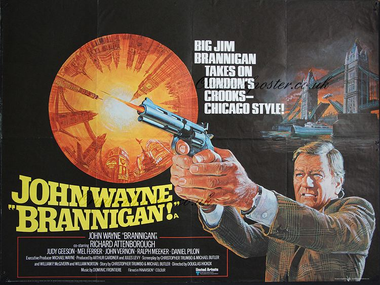Brannigan (film) Brannigan Original Vintage Film Poster Original Poster vintage