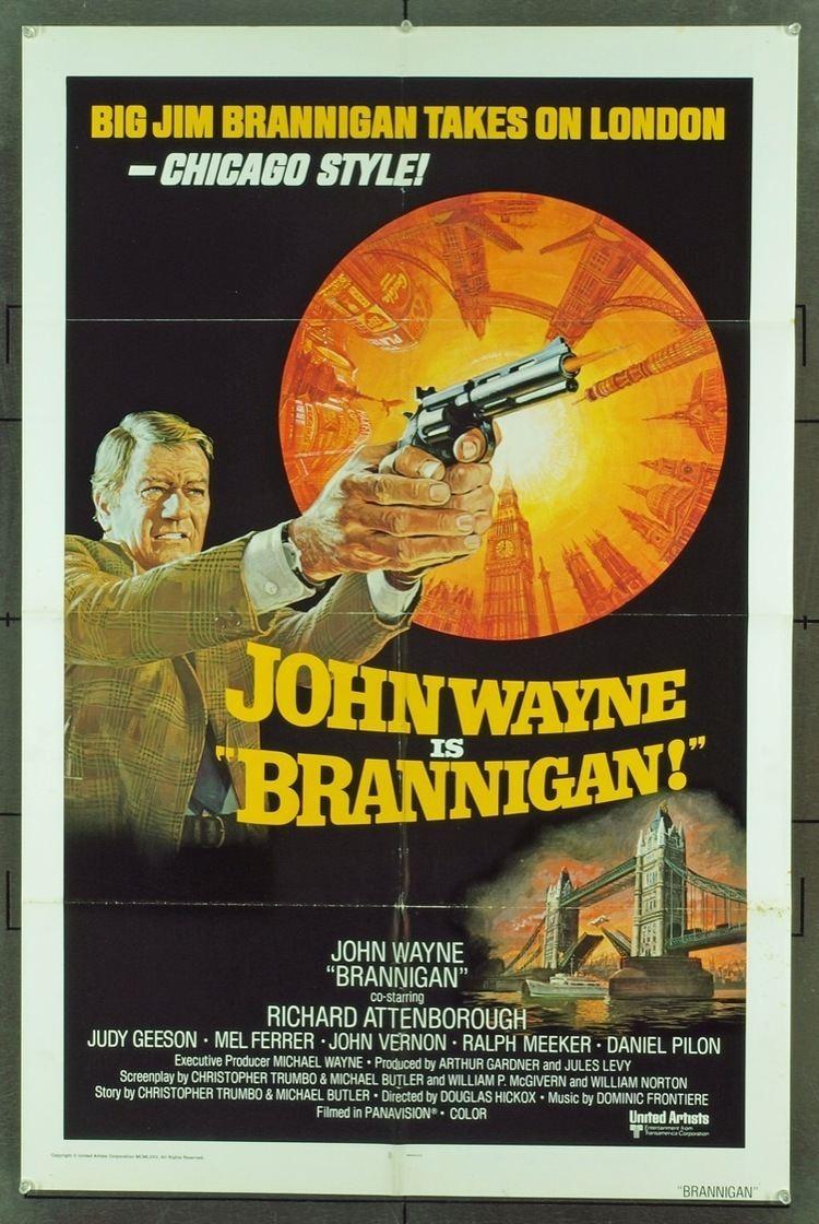 Brannigan (film) World Cinema Paradise Bluray Review Brannigan 1975