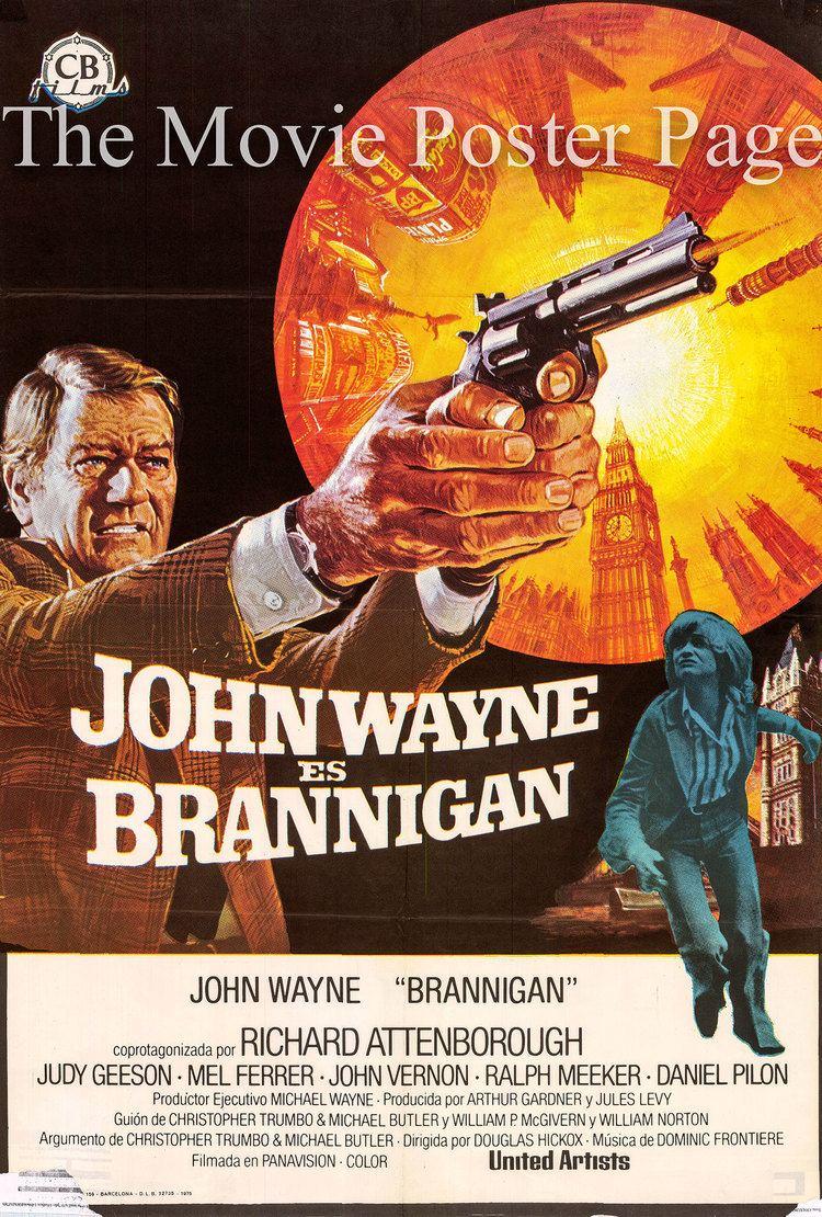 Brannigan (film) Brannigan 1975 John Wayne Spanish onesheet FVG 15