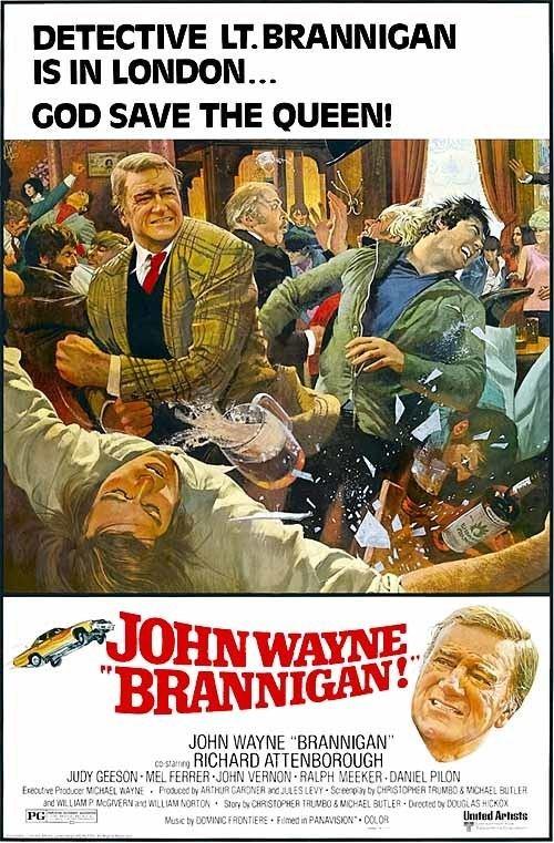 Brannigan (film) DVD REVIEW BRANNIGAN 1975 STARRING JOHN WAYNE RICHARD