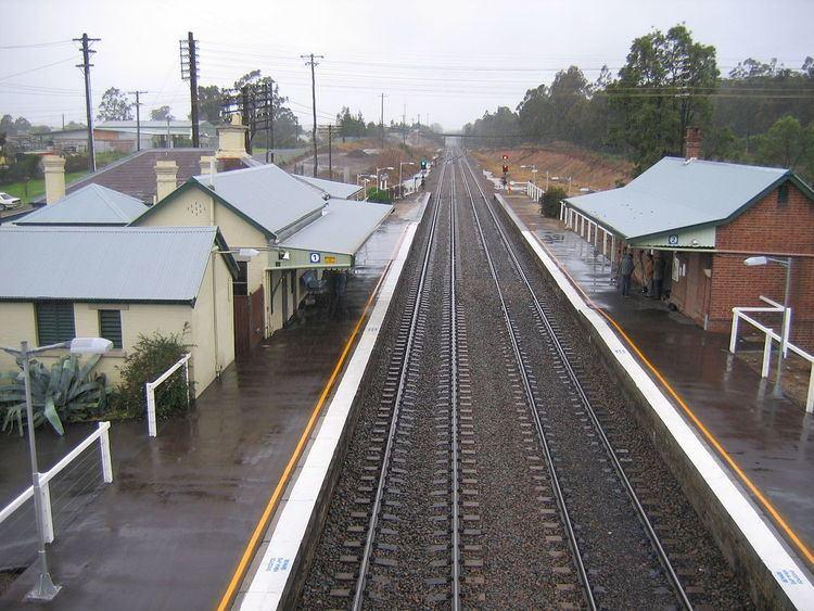 Branxton railway station