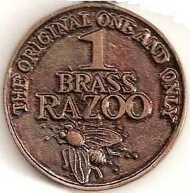 Brass razoo