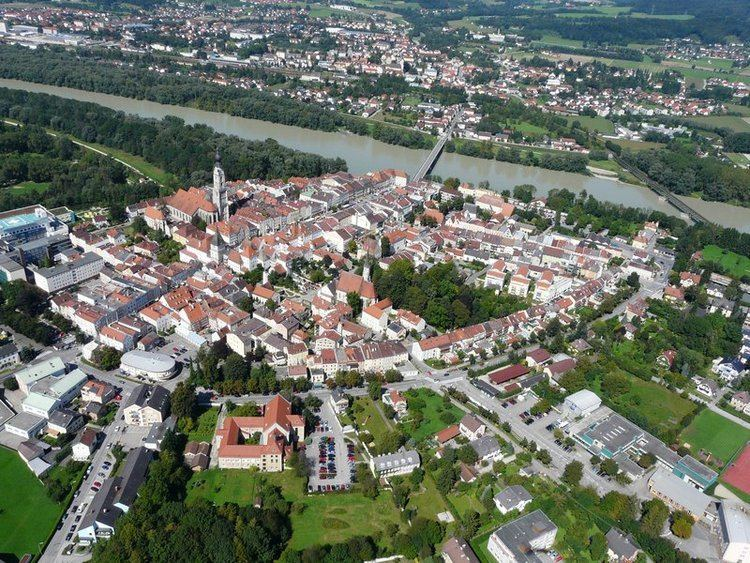 Braunau am Inn in the past, History of Braunau am Inn