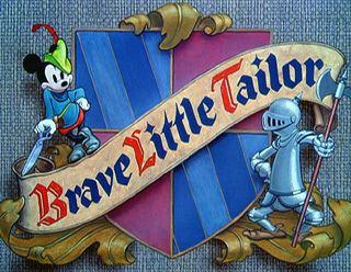Brave Little Tailor movie poster