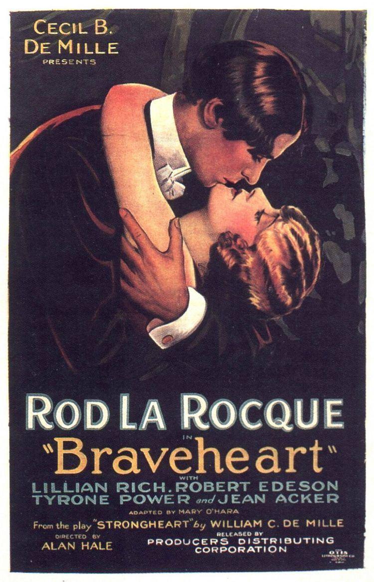 Braveheart (1925 film) movie poster
