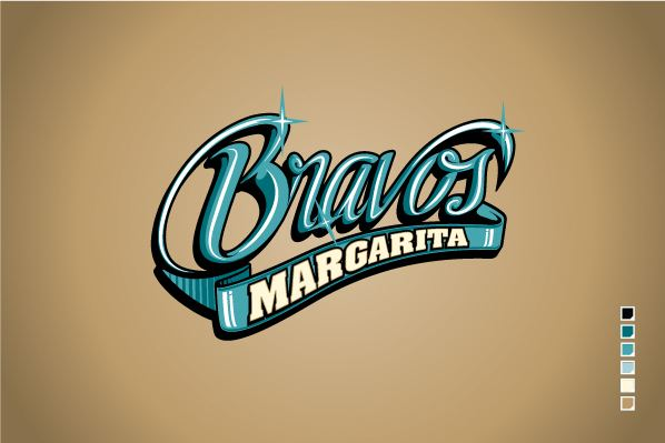 Bravos de Margarita Bravos de Margarita Nuevo logo