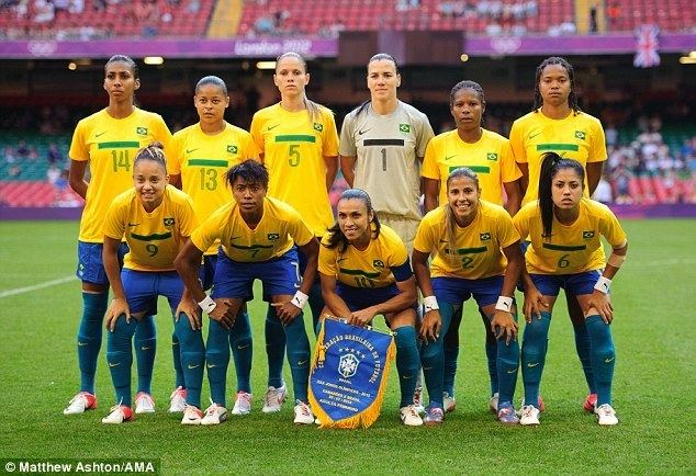 Brazil women's national football team Olympics 2012 cat fight Brazilian women39s football team labelled
