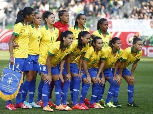 Brazil women's national football team Women39s Football Takes the Spotlight Curitiba In English