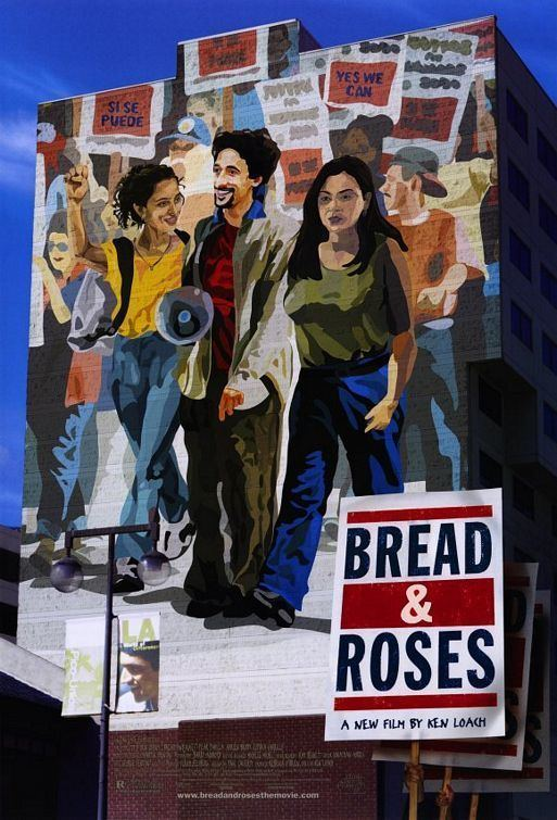 Bread and Roses (2000 film) Bread and Roses Movie Poster 2 of 3 IMP Awards