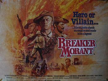 Breaker Morant (film) BREAKER MORANT ORIGINAL QUAD POSTER