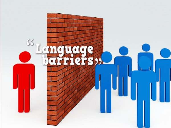 breaking the barrier language