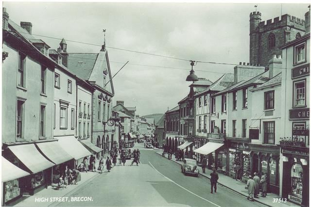 Brecon in the past, History of Brecon