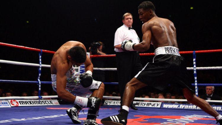 Breidis Prescott Breidis Prescott recalls Amir Khan victory ahead of Brits clash