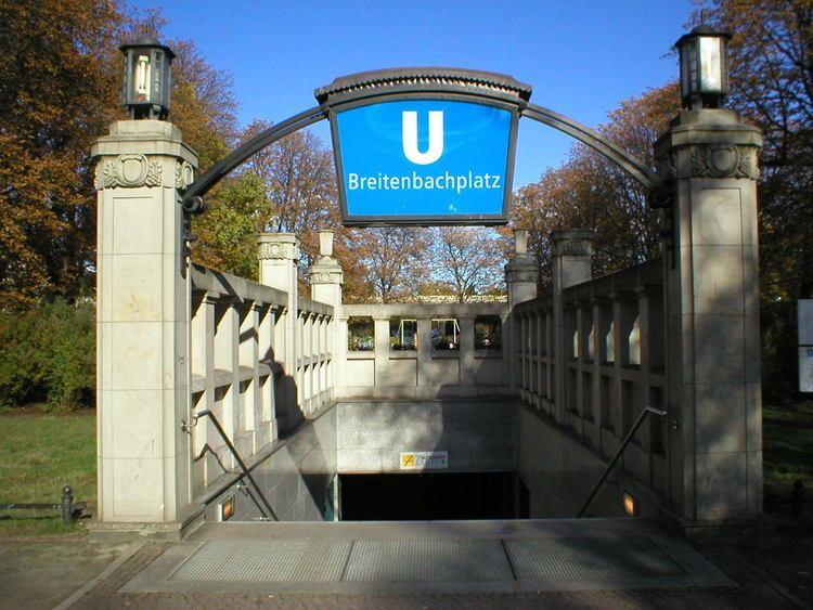 Breitenbachplatz (Berlin U-Bahn)