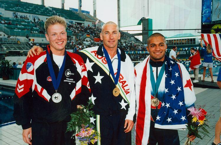 Brendan Burkett FileBrendan Burkett gold 50m freejpg Wikimedia Commons