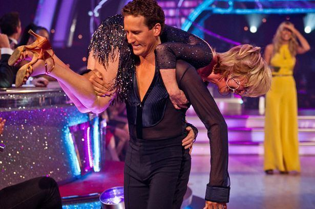 Brendan Cole Strictly Come Dancing Lulu shocked to get Brendan Cole as dance