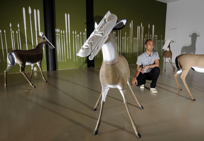 Brendan Fernandes Art world likes where hes coming from Toronto Star